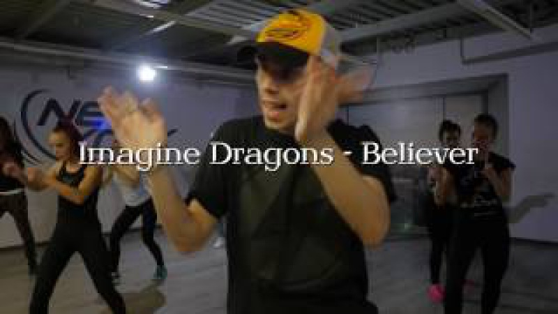BELIEVER (4K) || MARTYNOV Sergey (choreography for Imagine Dragons)