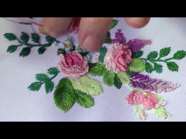 Flower Embroidery || Цветочная Вышивка