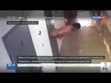 Преступник сбежал из изолятора протиснувшись через окошко для подачи еды