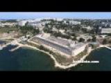 Михайловская батарея Севастополь Северная сторона часть 2 с высоты птичьего пол...