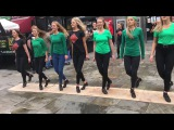 Fusion Fighters Dance Crew Perform in Temple Bar, Dublin