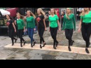 Fusion Fighters Dance Crew Perform in Temple Bar Dublin