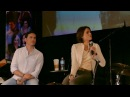 Lana Parrilla and Colin O'Donoghue Gold Panel OUAT Chicago 2017 Part 2