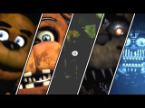 Five Nights At Freddy's 1 2 3 4 Sister Location All Jumpscares  FNAF Series