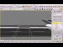 3ds MAX - Sweep Modifier - Calçada e meio-fio - SideWalk - Part 3
