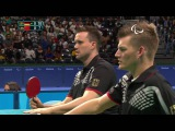 Table Tennis  Germany vs China  Men's Team Finals and Gold Match 3  Rio 2016 Paralympic Games