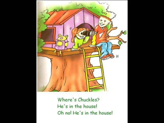 English for children. Spotlight 2. Page 31 ex 3 - Chuckles Is in the House Chant