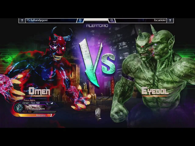 Killer Instinct Ultra Tournament - TS Fulandygore (Omen, Mira) vs Iscariote (Eyedol, Tusk)