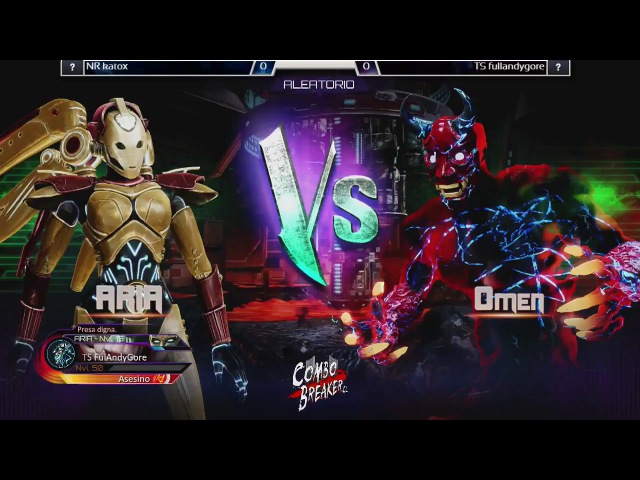 Killer Instinct Ultra Tournament - NR Katox (Aria) vs TS Fulandygore (Omen, Shago, Mira)