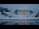 CATHEDRALS OF CULTURE - Clip MARGRETH OLIN Opera House -- Oslo, Norway - HD