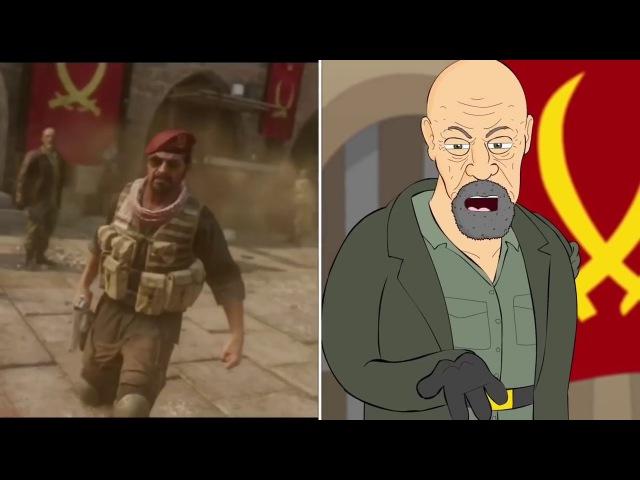 Call Of Duty Modern Warfare Remastered(Musical Comparison)