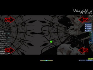 osu! replay: Meiko Nakamura - Dispel +HR
