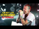 Chester Bennington -The best live Screams