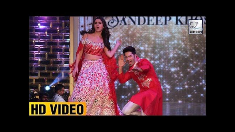 Alia Bhatt Varun Dhawan's 'Tamma Tamma Again' On Ramp | LehrenTV