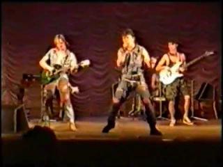 Сектор Газа - Концерт & репетиция (перед концертом) в Губкине/ 20.10.1991год.