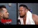 Samoa Joe ponders why anyone would choose to cross him: Raw Fallout, Nov. 20, 2017
