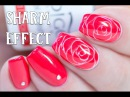 SHARM EFFECT - How to make Realistic Roses with Gel | Indigo Nails