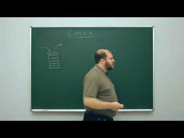 Информатика. Структуры данных: Стек. Центр онлайн-обучения «Фоксфорд»