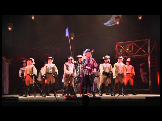 На войну! - Сцена из спектакля НТМК Сирано де Бержерак