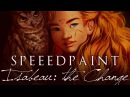 [speed paint] Paint Tool SAI - ISABEAU: THE CHANGE ( Witches of Eileanan Fanart)