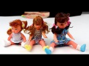 Обзор - распаковка игрушек Кукла Моя Малышка 3 шт. в пакете по росту Арт 197BV