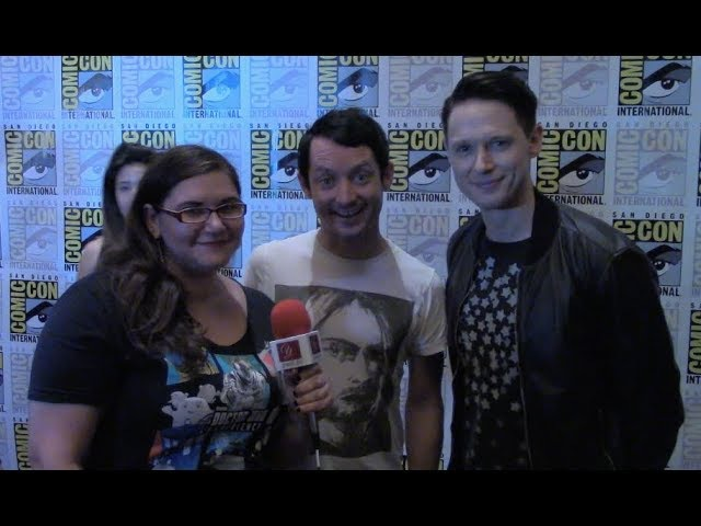 Elijah Wood Samuel Barnett talk Dirk Gently Season 2 at SDCC 2017 | yael.tv