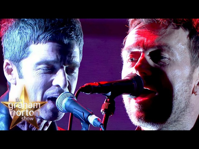 Gorillaz - We Got The Power / LIVE with Noel Gallagher Jehnny Beth on The Graham Norton Show