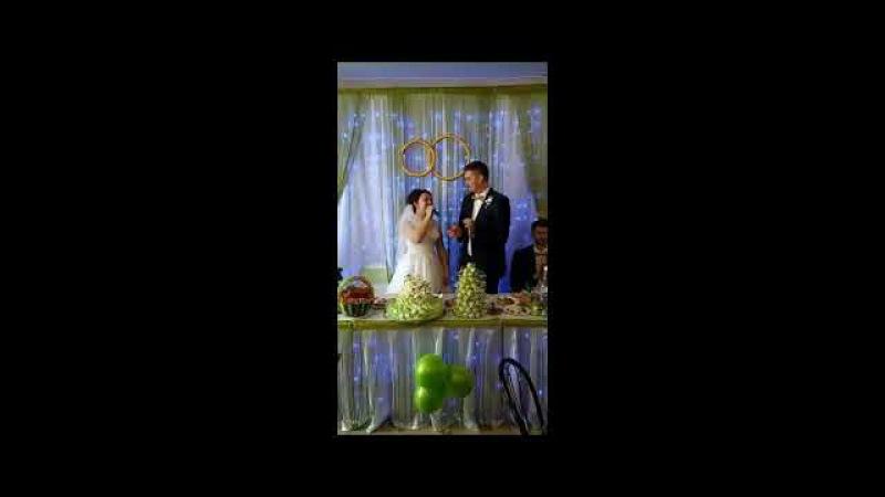 Песня невесты в подарок жениху. Дарья - Я согласна, да!