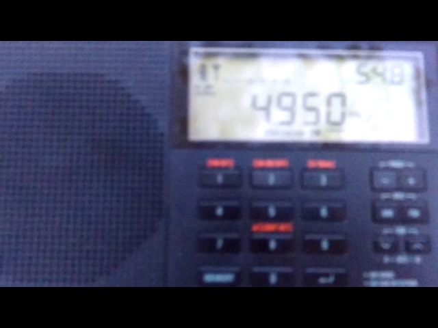 Radio Nacional Angola 4950 kHz (20/05/17)