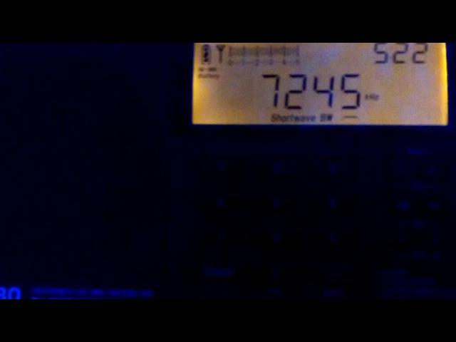 BBC Meyerton South Africa (20/05/17) 7245 kHz