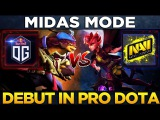 WTF MIDAS MODE! Na`Vi vs OG - Willow vs Pangolier Debut in Pro Dota 2