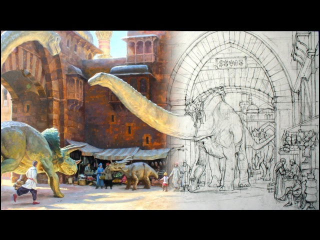 Secrets of Imaginative Painting—BOOK TRAILER for Dinotopia: Journey to Chandara