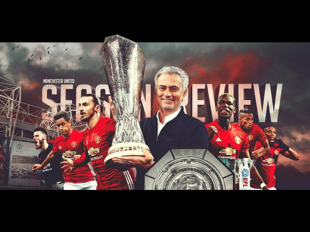 Manchester United - Season Review 2016-17 by @aditya_reds