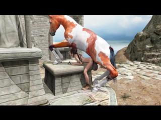 порно мультик лара крофт ебет конь фото