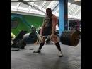 Сергей Дараган тянет 370 кг на 4 раза