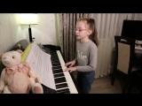 Кавер 9-летней девочки песни ТРОЛЛЬ - Виктория Викторовна  - cover ВРЕМЯ и СТЕКЛО