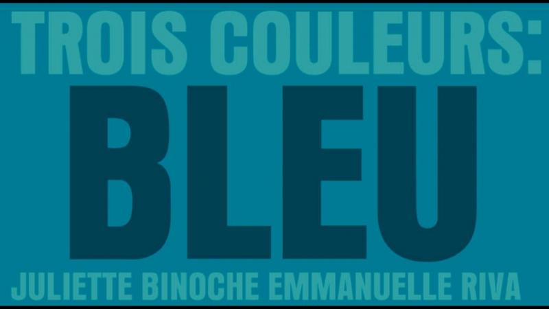 Trois couleurs: Bleu / Три цвета: Синий, 1993 (Кшиштоф Кесьлёвский)