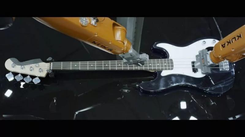 Nigel Stanford - Automatica (Robots Vs. Music)