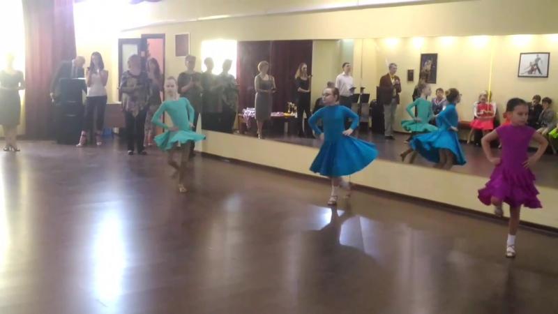 Второй конкурс по спортивным бальным танцам.