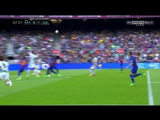 Барселона 0:1 Эйбар. Гол Инуи