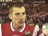 staroetv.su / Футбол без границ (РТР, декабрь 1997) Обзор матча Спартак - Карлсруэ