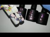 🌺 ПРОСТОЙ и НЕЖНЫЙ дизайн ногтей 🌺 гель лаки By Milana 🌺  Цветы на ногтях 🌺