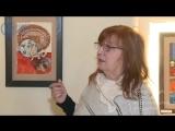 В Выборгском замке открылась персональная выставка художницы Галины Светочевой