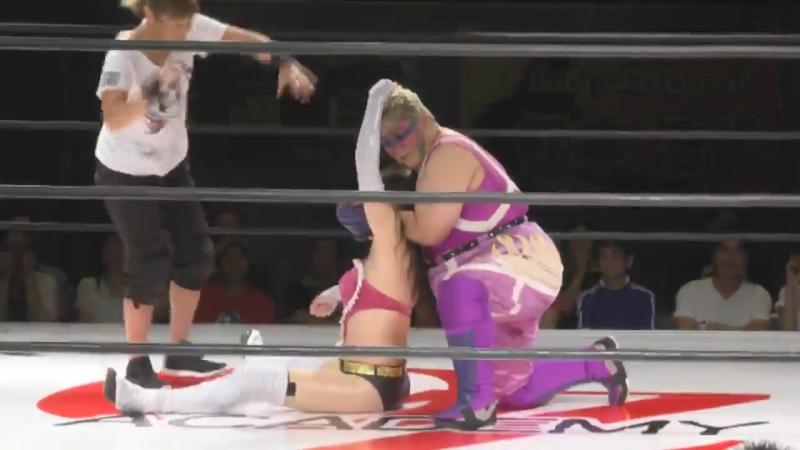 Aja Kong vs Aoi Kizuki OZ Academy Mayumi Ozaki Homecoming ~ Windbreak Revolution