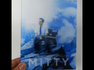 [ME#5] Walter Mitty Steelbook - PET Lenticular sample
