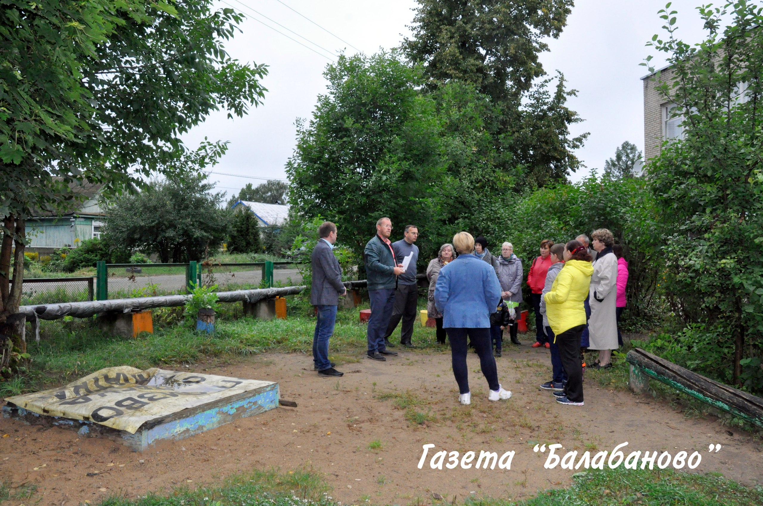 Современная детская площадка появится на ул.Лермонтова