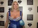 Анастасия Волочкова в программе Модный свет ТК Волга. Ведущая - Марина Теплицкая