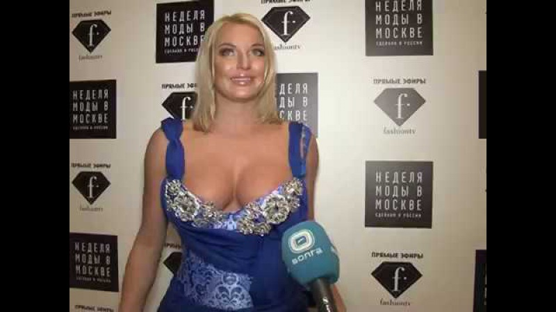 Анастасия Волочкова в программе Модный свет ТК Волга Ведущая Марина Теплицкая