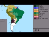 The History of South America Every Year