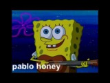 Each Radiohead album described with Spongebob